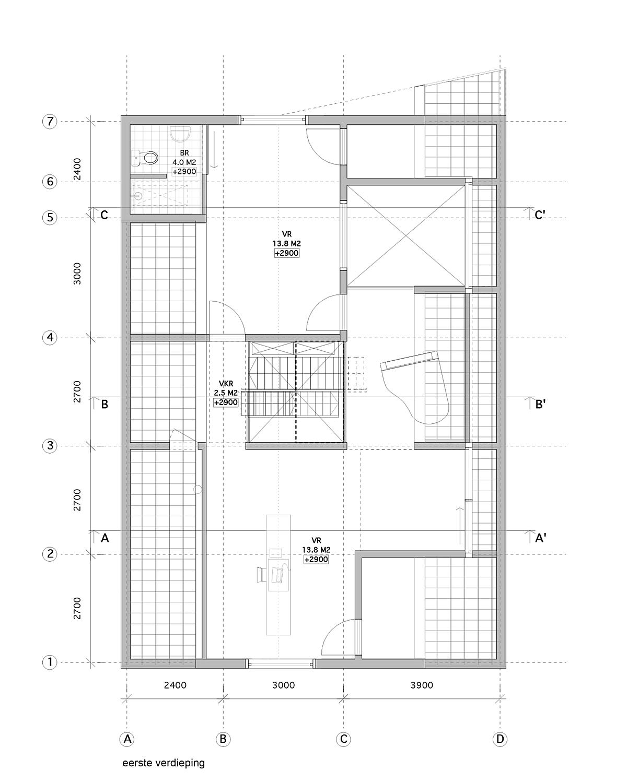 LDS Ra Vlieland eerste verdieping
