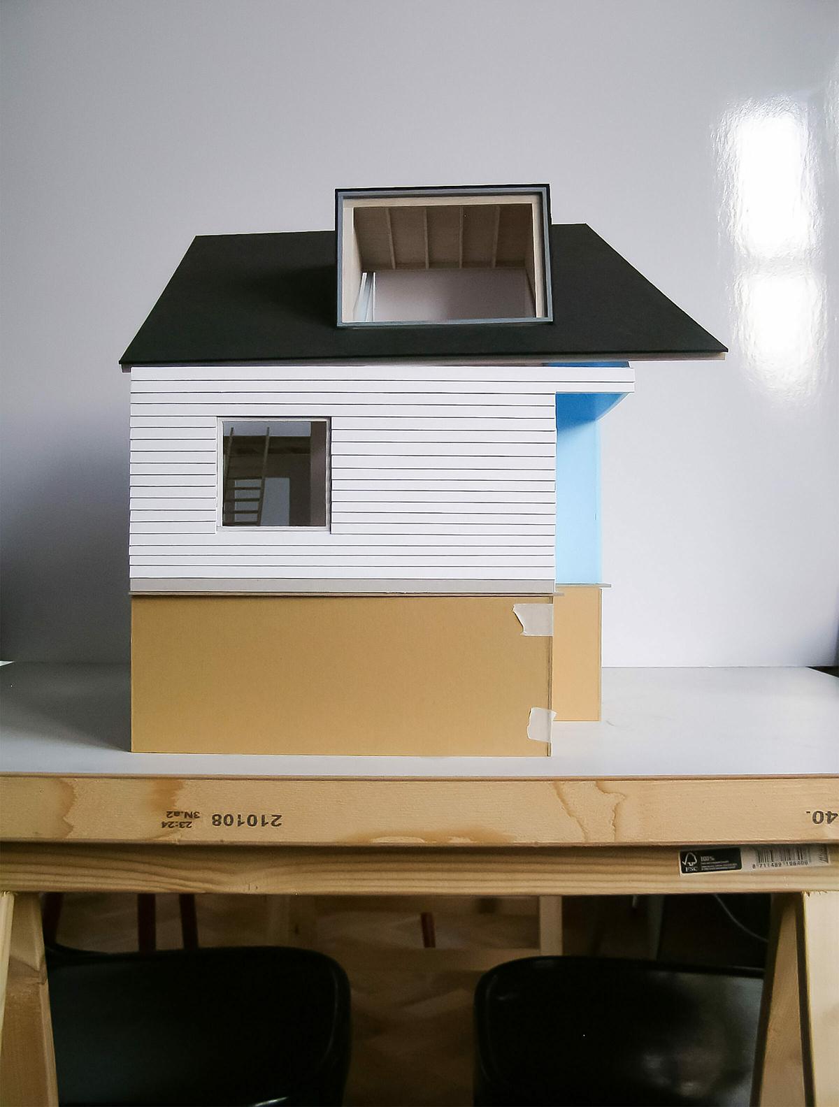 LDS Ra Vlieland maquette