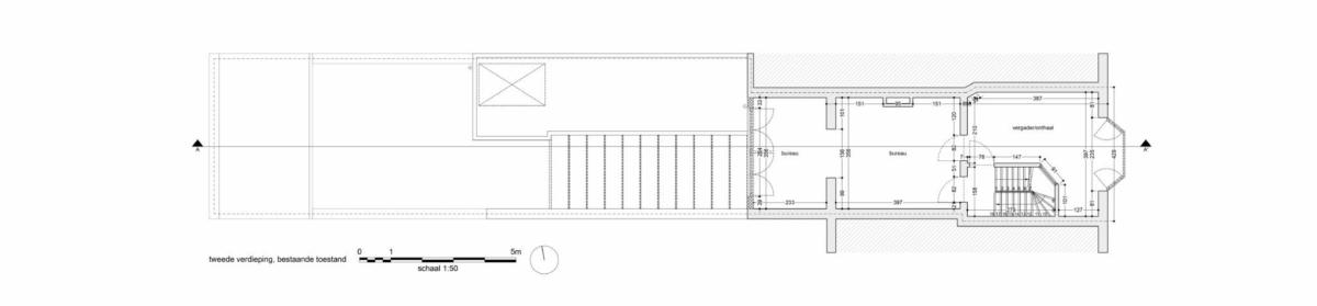 LDS Ra valine bestaand tweede verdieping