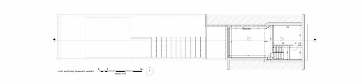LDS Ra valine bestaand vierde verdieping