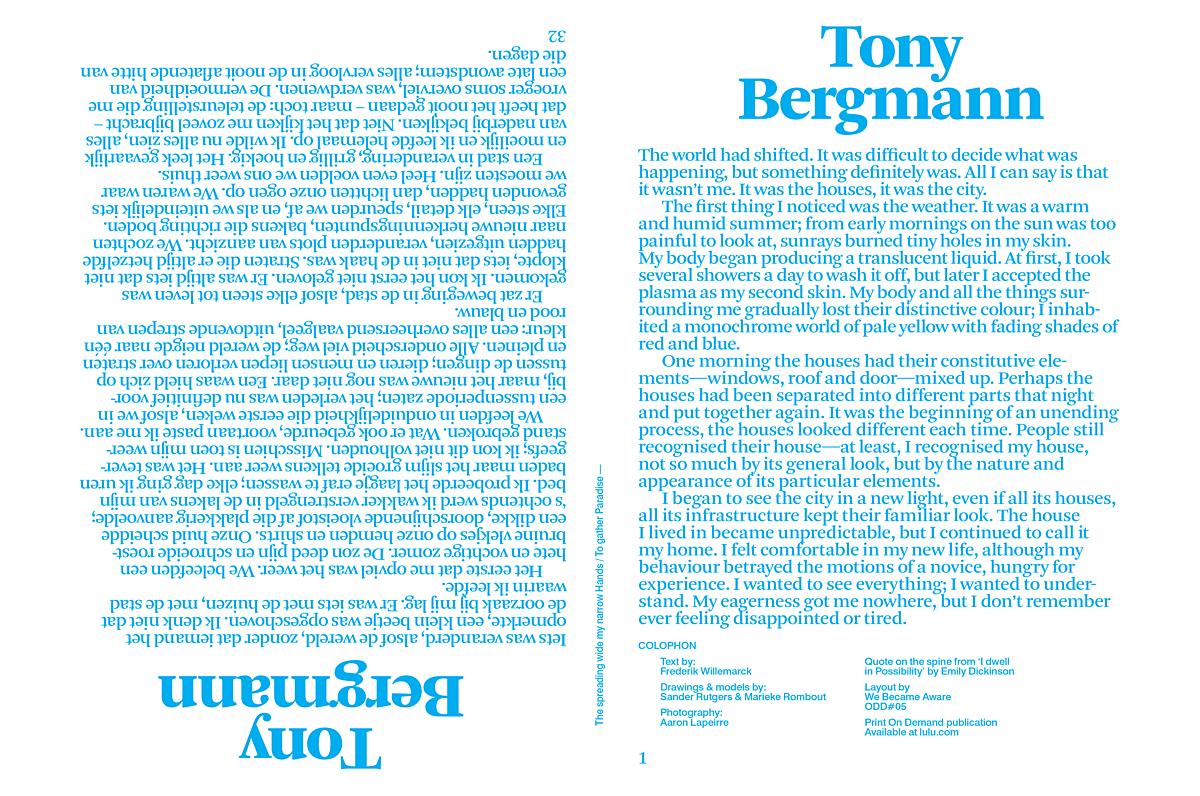 TONY BER Gmann cover
