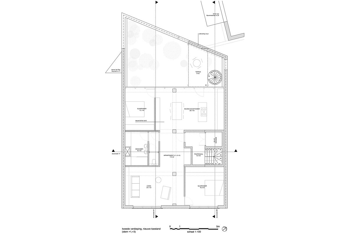 N tweede verdieping