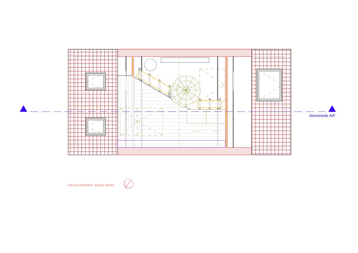 2021 0518 KAARDERIJ grondplan duplex