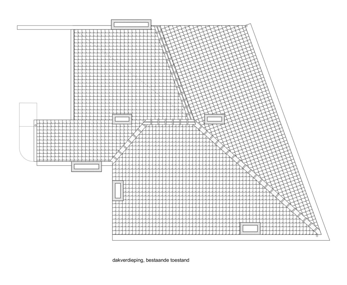 LDSRA KOR plan bestaand dak